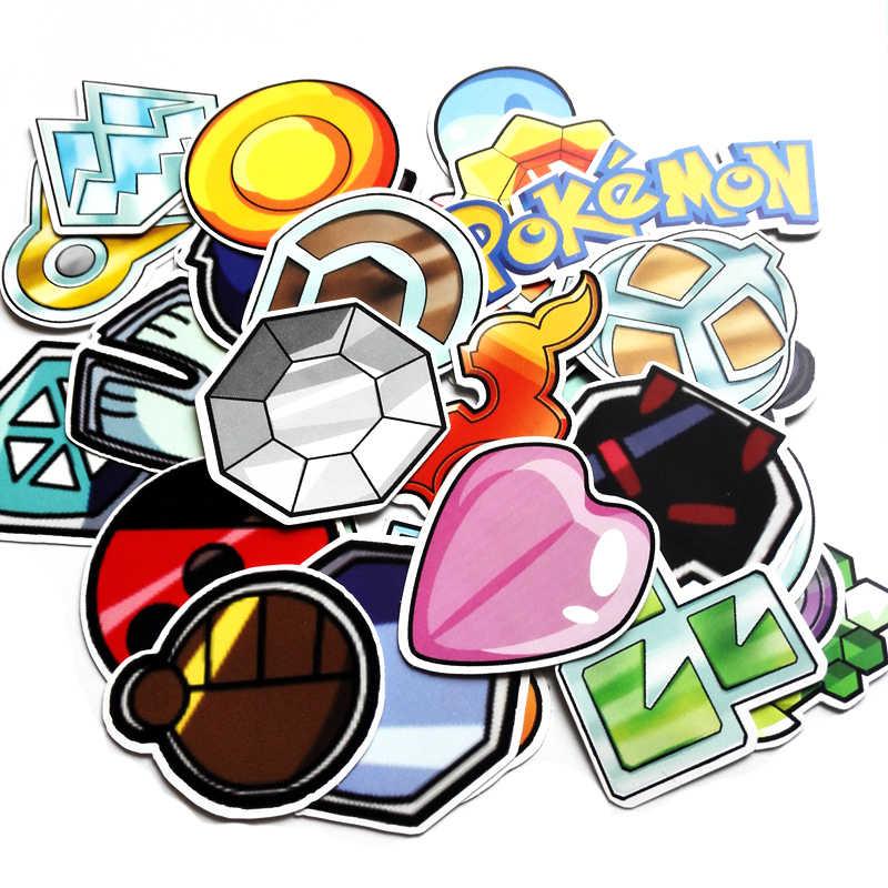 Takara Tomy 62pcs/bag Pokemon Go Stickers Waterproof Suitcase Sticker Travel Box Stickers Sword Shield Game Accessories
