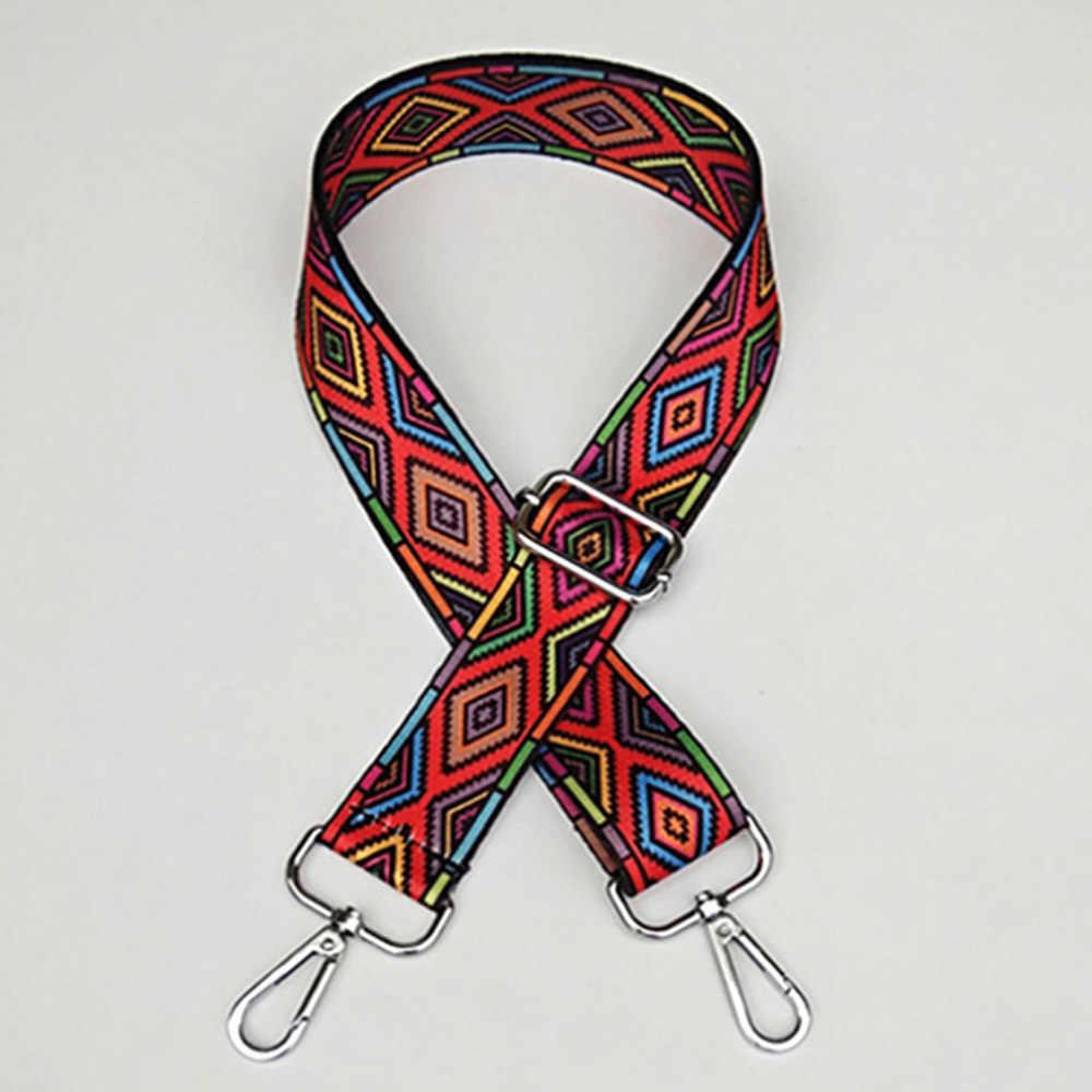 ניילון בצבע חגורת שקיות רצועת אביזרי לנשים PTgirl אופנה מתכוונן כתף תיק רצועת דקורטיבי אביזרי שקיות