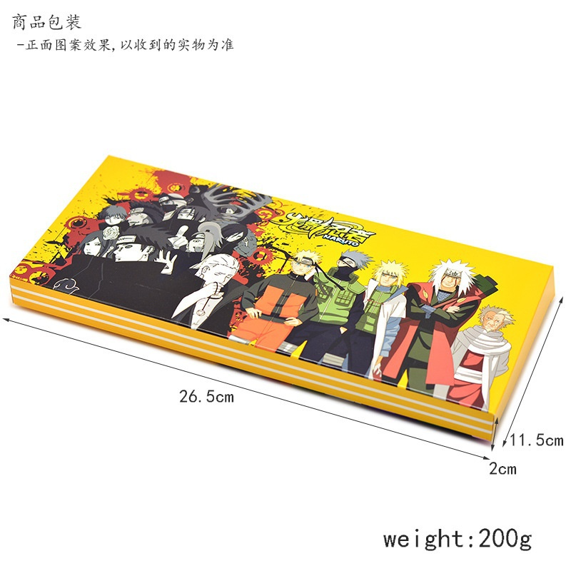 10pcs Anime Naruto Kakashi Uzumaki Weapon set Cosplay Pendant Collection Props