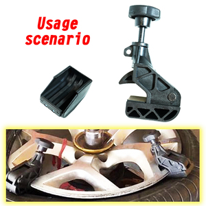 Image 1 - Hands free Heavy Duty Clamp Car Tire  Dismounting Clamp Tool Tyre Drop Center Clamp Tire Repiar Parts Tyre Changer Helper