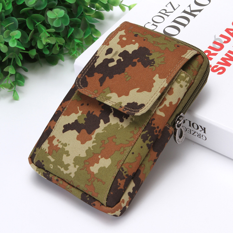 BYCOBECY 2020 Oxford Outdoor Heuptas Heren Fashion On The Belt Purse Pack Camouflage Multi-function Men Waist Bag Wear-resistan
