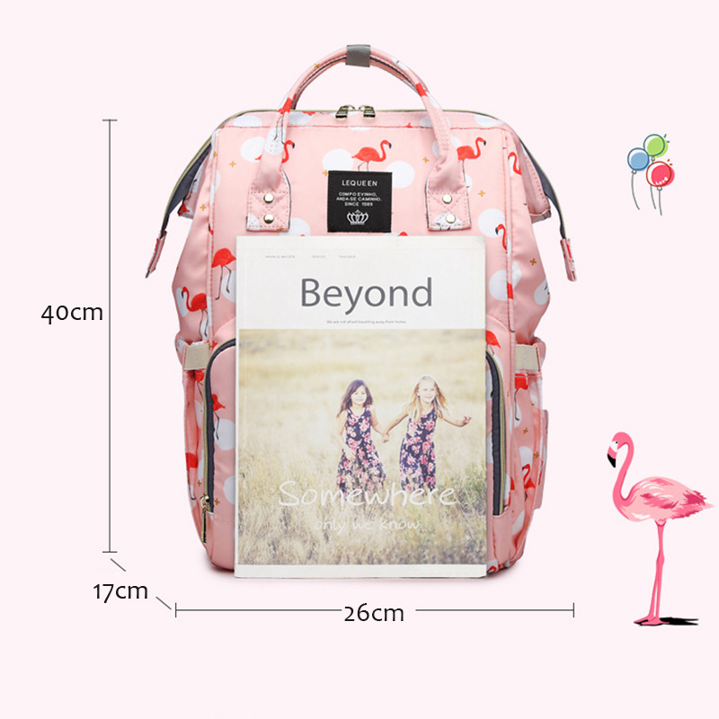 H960ae05241f745f9b6eef70bc627e647r Diaper Bag Backpack For Moms Waterproof Large Capacity Stroller Diaper Organizer Unicorn Maternity Bags Nappy Changing Baby Bag