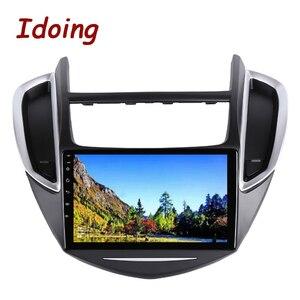 "Image 5 - Idoing 9 ""4G + 64G 2.5D IPS Octa Core Android auto Radio Multimedia Player GPS para CHEVROLET TRAX 2014 2016 DSP de navegación GPS"