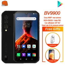 Helio P90 Blackview BV9900 Octa Core 8GB 256GB 5.84'' FHD+ IP68 Waterproof Rugged