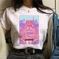 LINNA Sailor Moon Costume Girl Warrior T-shirt Women Long Sleeve CDR Cute Cartoon Cat Sailor Moon T-shirt Japanese Anime
