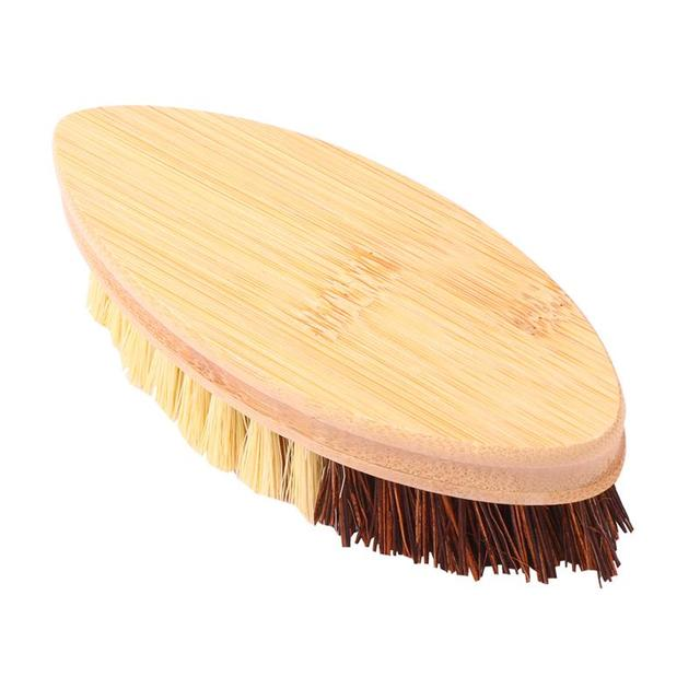 Wooden Sisal Hemp Brush Oilproof Cleaning Brush Pot Pan Dish Scrubber Kitchen Utensil Cleaner Bathroom Cleaning Tool 6