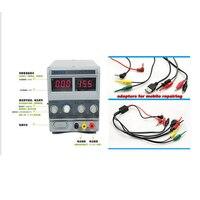 سايكي 1502DD إصلاح الهاتف المحمول تيار مستمر موفر طاقة تنظيمي 15 فولت 2A 220 فولت + محولات مجانية لإصلاح الهاتف المحمول