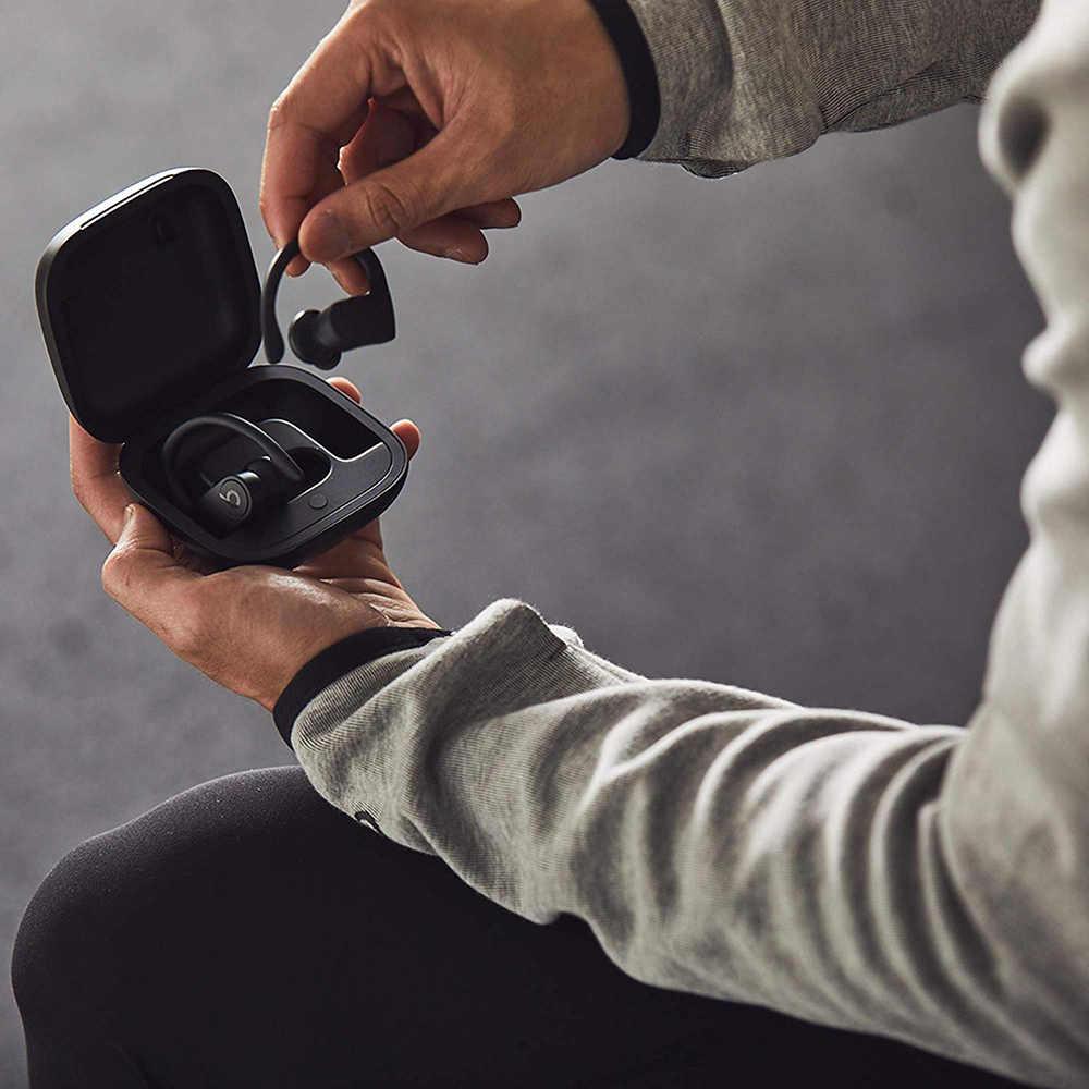 Beats Powerbeats Pro-auriculares TWS, inalámbricos por Bluetooth, Auriculares deportivos a prueba de sudor con micrófono y estuche de carga