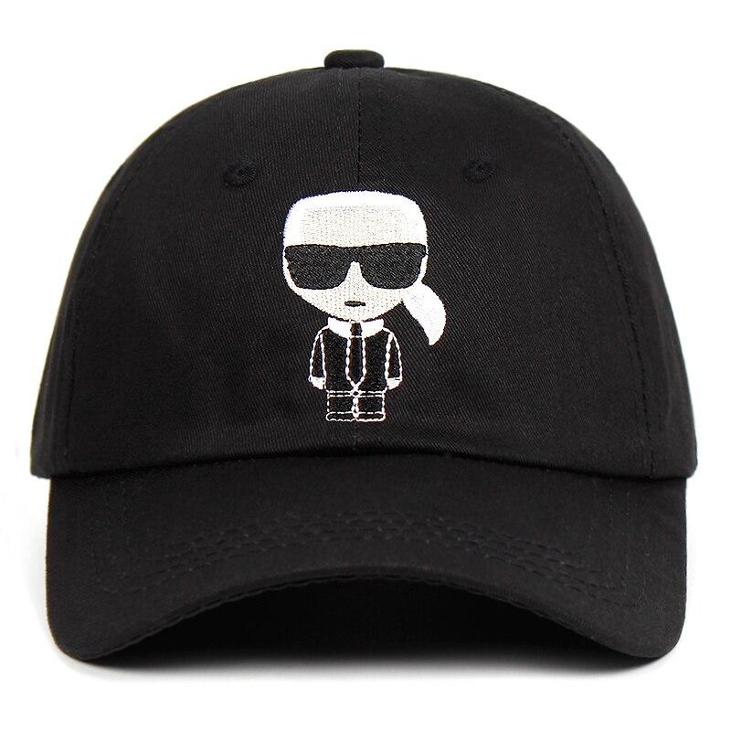 Designer Artist Embroidery Baseball Cap Men Dad Hat 100% Cotton Cartoon Character Street Fashion Hat Snapback Hats Women