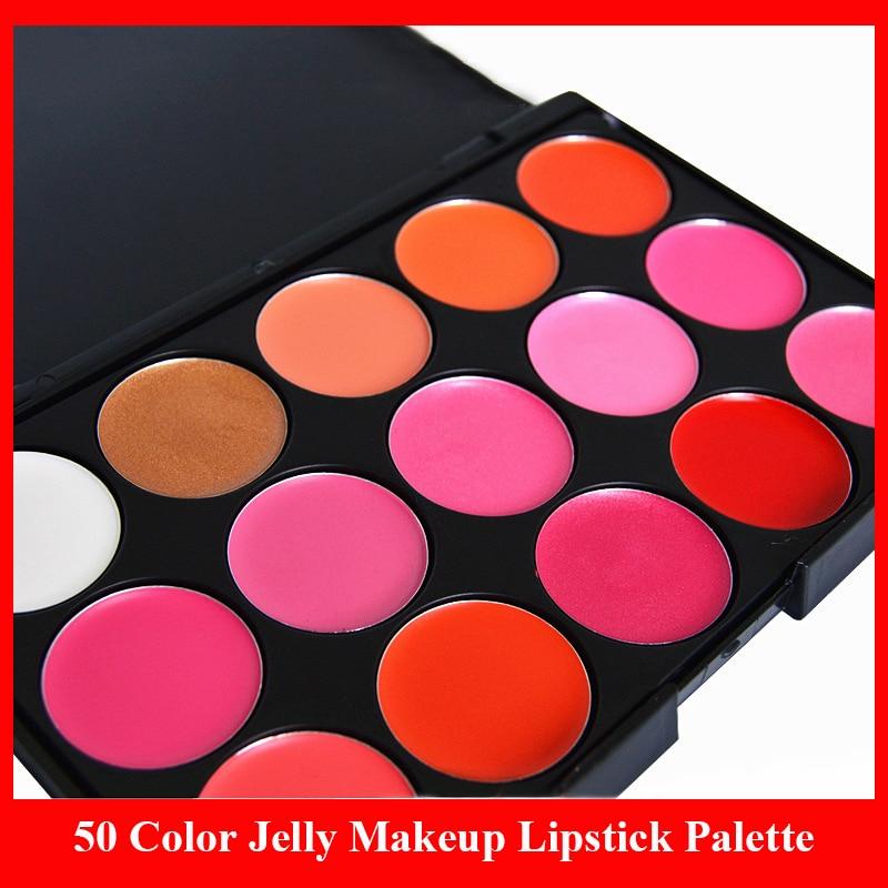15 Color Jelly Makeup Lipstick Palette Waterproof Long Lasting Moisturizing Nutritious Lips Balm Makeup Lip Gloss Palette Kit