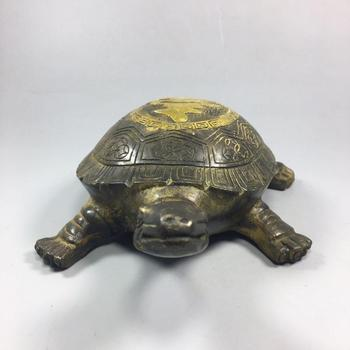Chinese Old Copper Collection Pure Copper turtle