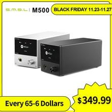 SMSL M500 MQA Headphone Amplifier MQA XMOS XU 216 ES9038PRO Decoder Hi Res Audio Decoder USB DAC
