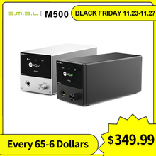 SMSL M500 MQA אוזניות מגבר MQA XMOS XU 216 ES9038PRO מפענח היי Res אודיו מפענח USB DAC