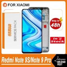 100% Getest 6.67 Display Vervanging Voor Xiaomi Redmi Note 9 Pro Lcd Touch Screen Digitizer Vergadering Voor Redmi Note 9S Display