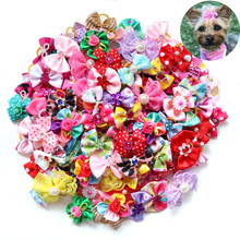Hair-Bows Hair-Accessories Pet-Supplies Puppy Dogs Small Wedding-Party Pet-Dog Nice