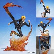 Een Stuk Ronoa Zoro Ghost 3D2Y Drie-Mes Sanji Luffy Ace Pvc Action Op Vechten Collection Figuur Model Gift