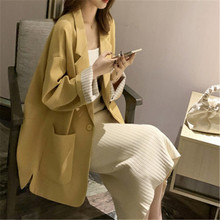 Blazer Women Coats 2020 Spring Autumn Suit Jacket New Korean