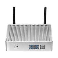 Mini PC Intel Celeron 3965U Pentium 4405U Finestre 10 Linux 8GB DDR3L RAM 240GB mSATA HDMI VGA 6 * USB 300Mbps WiFi Fanless HTPC