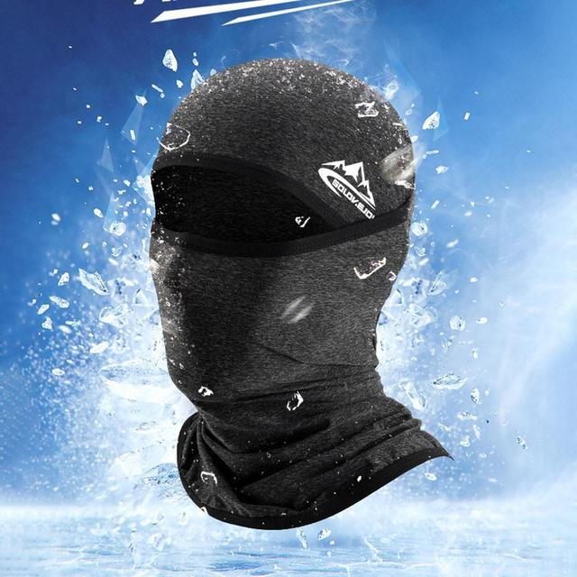 Unisex Outdoor Motorcycle Riding Face Mask Cover Cool Seamless Mask Multifunctional Sports Anti-fall Magic Headscarves Drop Ship 5
