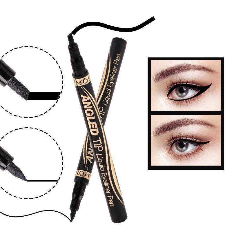 Eye Make Up Eyeliner Waterproof Long Last Black Liquid Eyeliner Pencil Easy To Wear Vacuum Straight Liquid Quick Dry Cosmetics