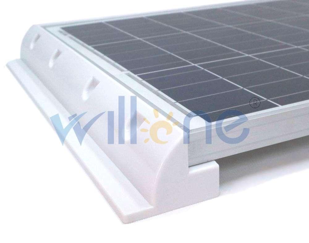4x Panel Solar Soporte de Autocaravana Estructuras autocaravana