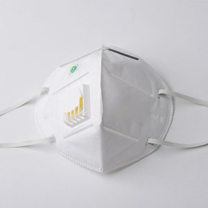 Dust mask with breather valve