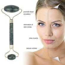 2pcs/set Face Massage Roller Gua Sha Scraper Board Face Lift Up Wrinkle Remover