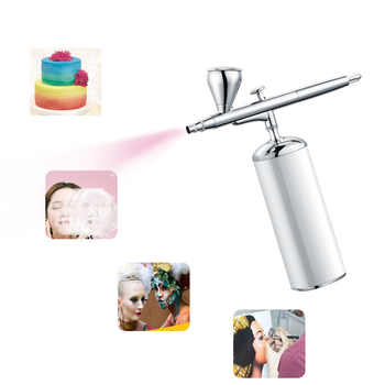 Dual Action Airbrush Mini Kit Compressor Air Brush Protable 0.3mm Nozzle Paint Spray Gun For Cake Decorating Makeup Tattoo Nail - DISCOUNT ITEM  20 OFF Tools