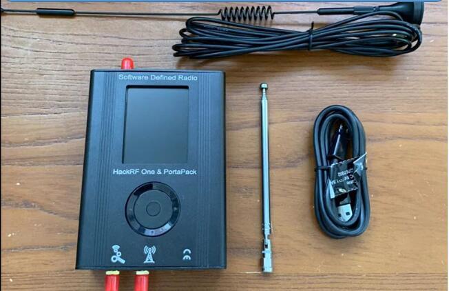 2019 dernière Version PORTAPACK avec 0.5ppm TXCO + HACKRF un 1MHz à 6GHz SDR logiciel défini Radio