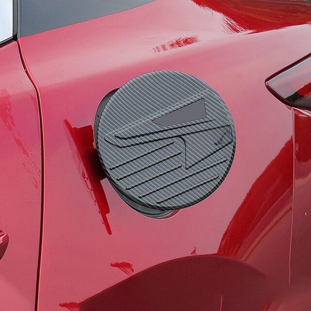 abs автомобильный стайлинг авто крышка топливного бака наклейка фотография