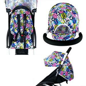 Image 3 - Wandelwagen Accessoires voor Babyzen Yoyo Kinderwagen Baby Yoya Kinderwagen zonnescherm Vizier Kap Seat Pad kinderwagen Matras Kussen