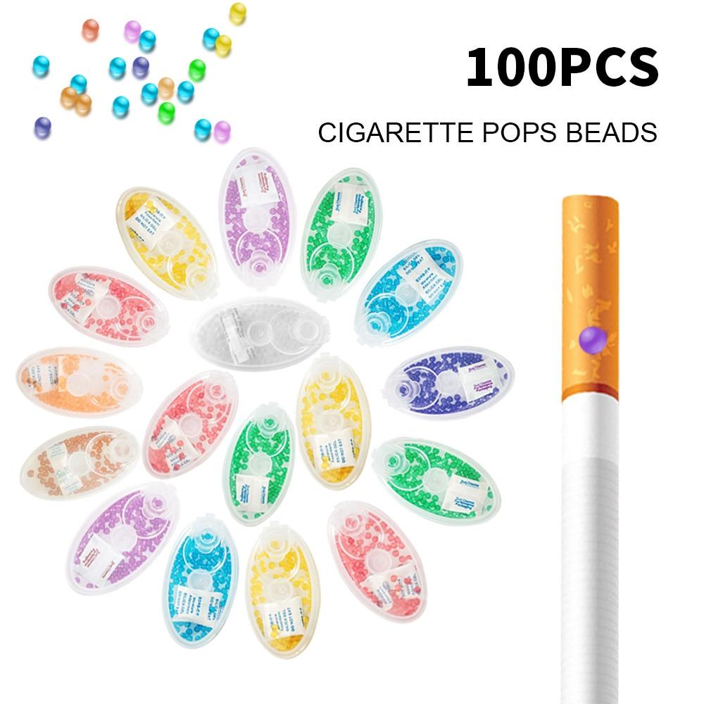 100 шт Смешанные фруктовый аромат мятным вкусом сигареты Popping капсулы льда сигареты хлопки бусины для держатель для табака фильтр для инструмента|Аксессуары для сигарет|   | АлиЭкспресс