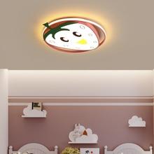 lican Cartoon Pink Blue LED Ceiling Lights for baby room Kids boy girls bedroom Modern Lamp Children