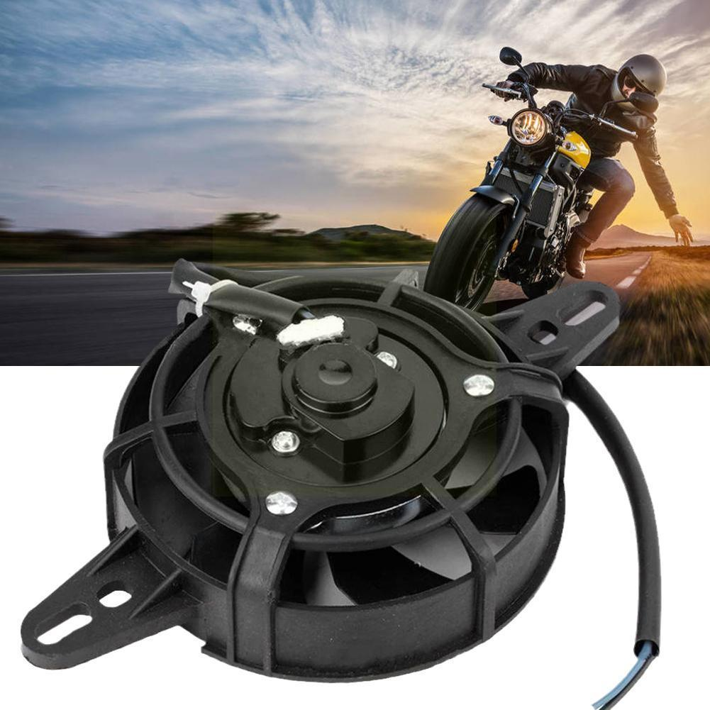 Motorcycle Oil Cooler Electric Radiator Engine Motorcycle ATV 200CC 250CC Accessories Modified Fan Cooling R5Y8