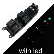 Lighted LED Power Window Switch for Toyota Yaris Corolla Camry Highlander rav4 Vios 2006-2015 84820-06100 Lifter Master Control