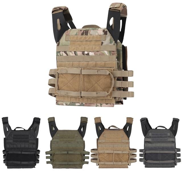 Tactical JPC 2.0 Vest Assault Lightweight Combat Vest Adjustable Vest Military Army Molle Hunting Plate Carrier 1