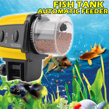 Digital Automatic Fish Feeder Food Electrical Timer Aquarium Auto Feeders with  Accessories D30