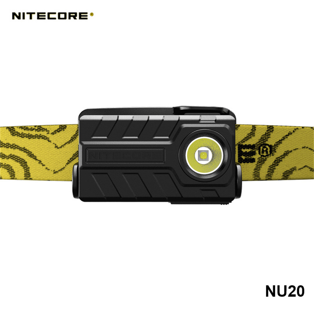 Nitecore NU10 NU20 NU25 NU32 Lightweight Builtin Li-ion Battery USB Rechargeable Work Headlamp Wide Range Illumination Headlight