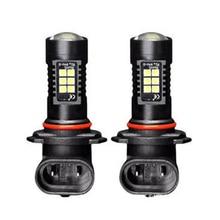 2x Canbus H8 3030 21Smd Led Drl Daytime Running Fog Light Bulbs For Skoda Superb