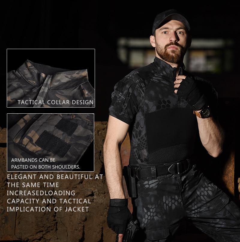 Купить тактическая военная униформа для страйкбола армии сша камуфляжная