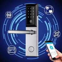 Electronic Digital Door Lock Wifi Control Touch Keypad Entry Smart Door Locks App Remote Home Hotel Apartment Code