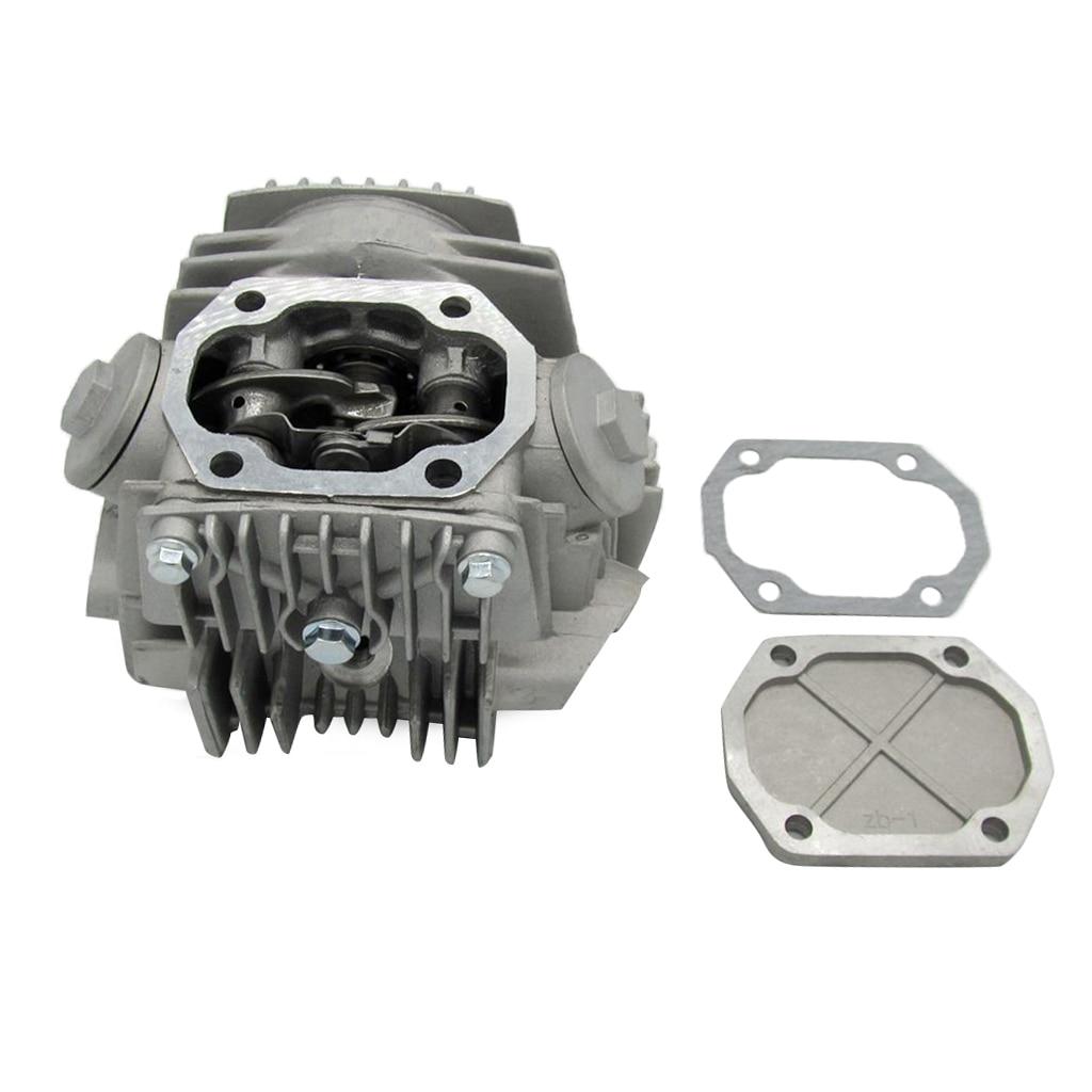 Cabeça de cilindro com junta, 52.4mm com junta para 4 tempos gy6 110cc atv scooter peça do motor
