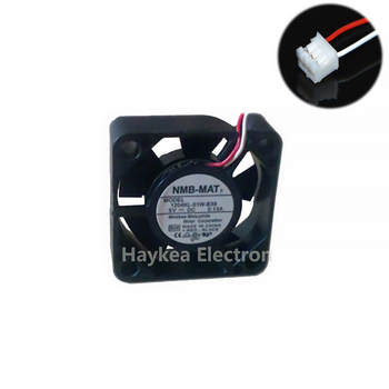 For NMB 3010 DC 5V 0.13A 30mm 3cm 1204KL-01W-B39  3Wire HDD Cooling Fan 30X30X10MM nmb 3110gl b4w b79 cooling fan dc12v 0 38a 80x80x25mm