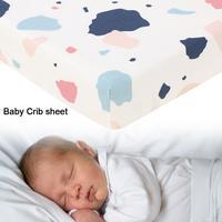 1 шт. Новейшие красочные детские матрасы для детской кроватки юбка для детской кроватки легкие мягкие хлопковые постельные принадлежности ...