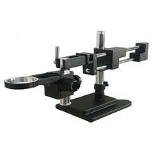 New Model 3.5X-180X Double Boom trinocular stereo Microscope Industrial Soldering 38MP HDMI USB microscopio camera phone kits