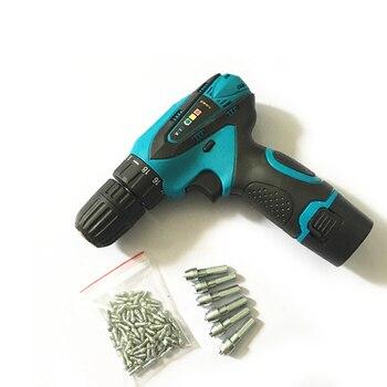 Novo estilo de arma de instalação para bicicletas e scooters e motobikes pneus parafusos parafusos de pneu de carboneto
