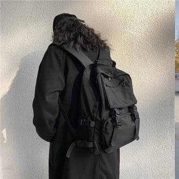 Fashion Women's Backpack Waterproof Men's Laptop Rucksack School Backpacks For Girls Female Anti-theft Travel Bag black mochila 1