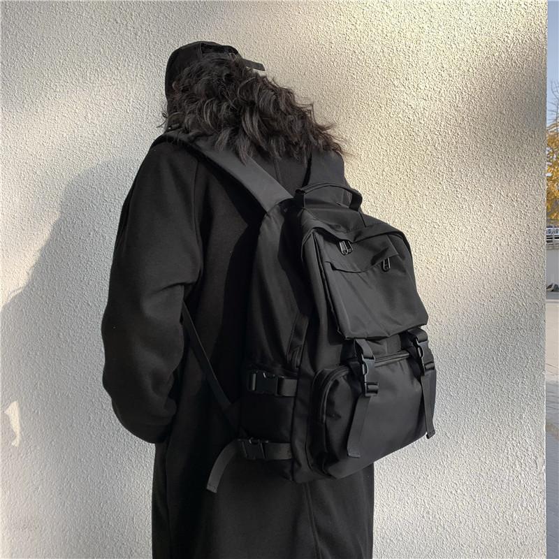 Fashion Women's Backpack Waterproof Men's Laptop Rucksack School Backpacks For Girls Female Anti theft Travel Bag black mochila