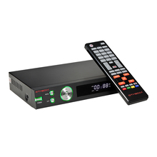 ใหม่ล่าสุดGtmedia V8 TurboสนับสนุนDVB S/S2/S2X + DVB T/T2/สาย/J.83B H.265 Atelliteตัวรับสัญญาณชุดกล่องด้านบนอัพเกรดจากV8 PRO 2 II