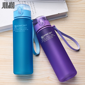 Image 5 - JOUDOO 400ml 560ml  Portable Leak proof Water Bottle High Quality Tour Outdoor Bicycle Sports Drinking Plastic Water Bottles 10